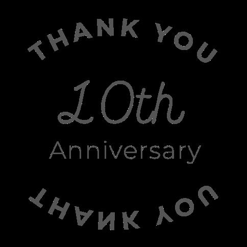 ありがとう10周年